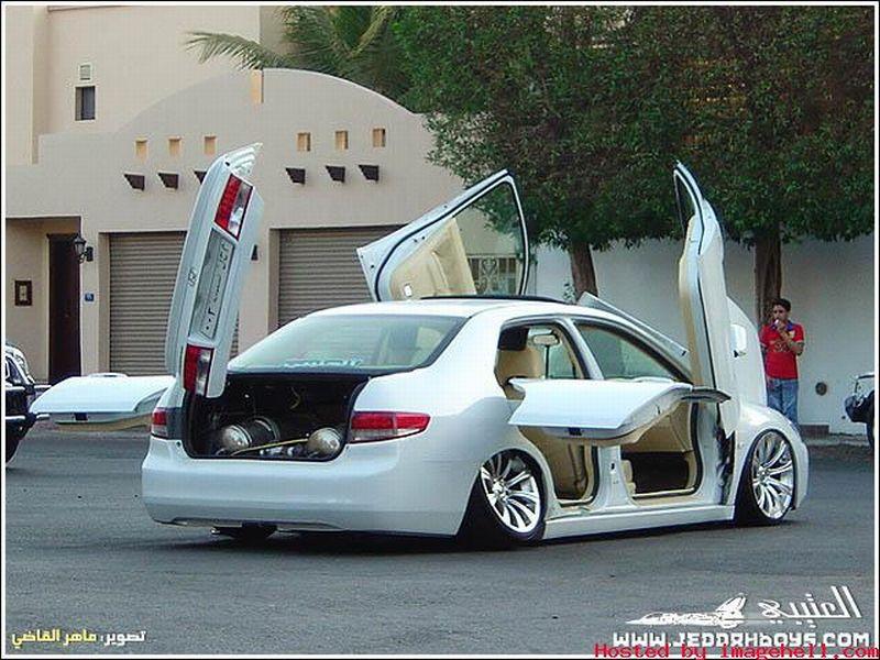 Işte Karışık Modifiyeli Arabalar