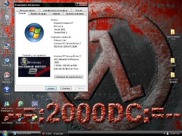 Microsoft Windows XP Colossus Edition 2 Reloaded