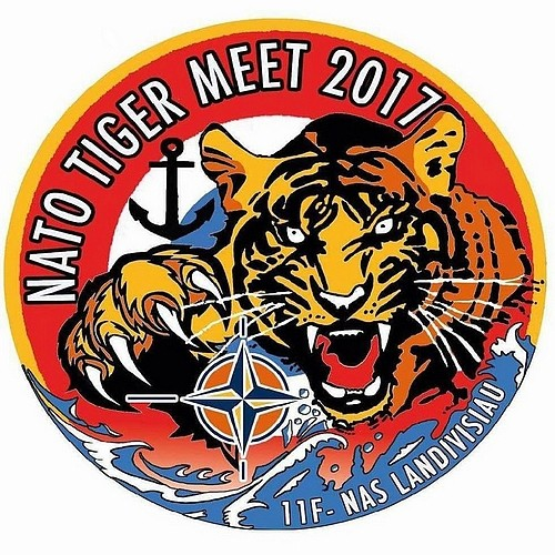 NATO Tiger Meet 2017 , NTM2017 , B.A.N Landivisiau , NATO Tiger Association , French Airshow 2017