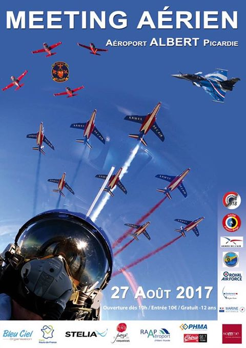 Fête Aérienne d'Albert Picardie 2017 , meeting aerien albert 2017, French Airshow 2017