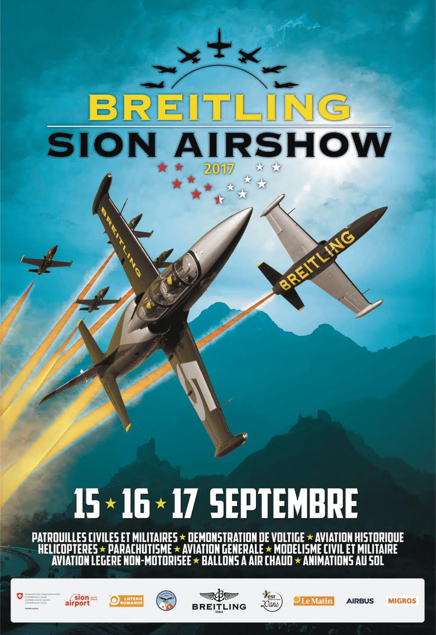 Breitling Sion Air Show 2017 , swiss airshow 2017, Meeting Aerien 2017, Airshow 2017, sion Airshow 2017