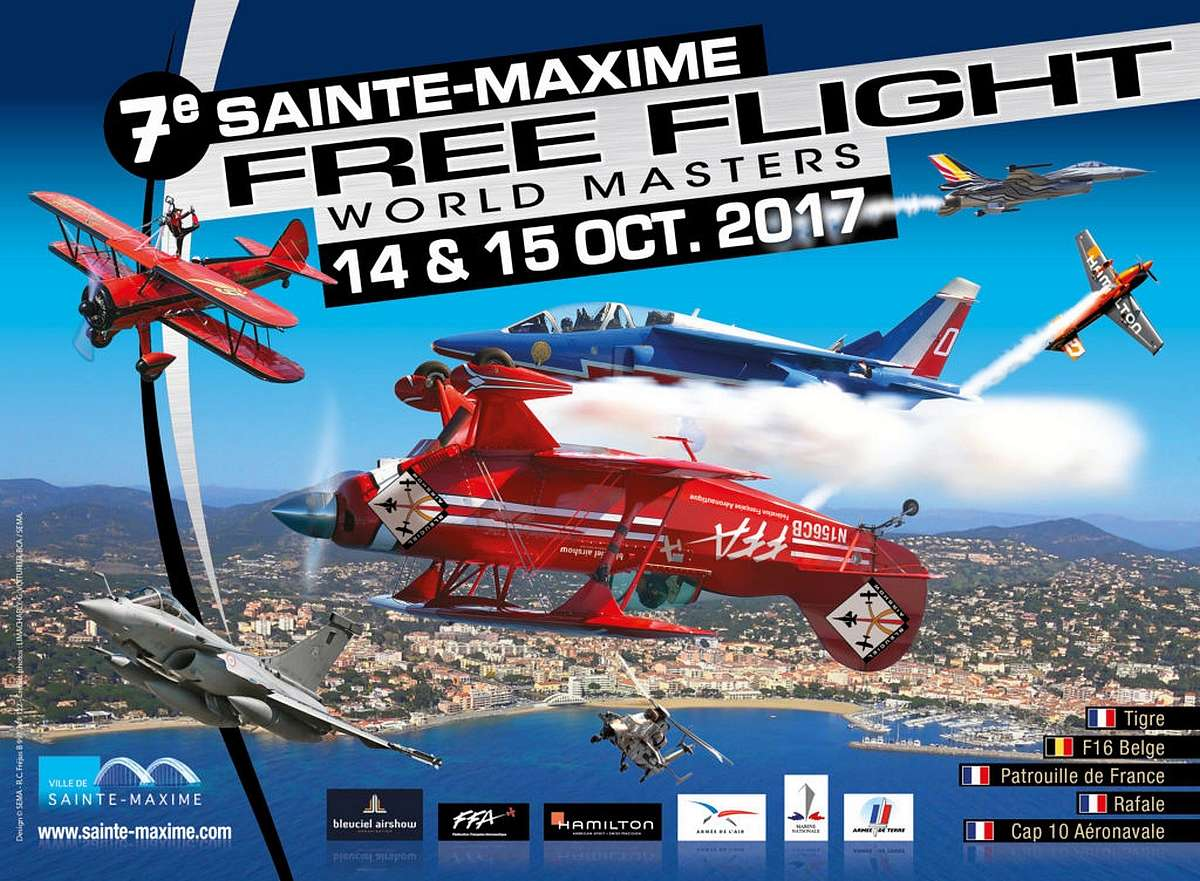 FFWM17, Sainte Maxime 2017 ,Free Flight World Masters 2017, Meeting Aerien 2017, Airshow 2017, French Airshow 2017
