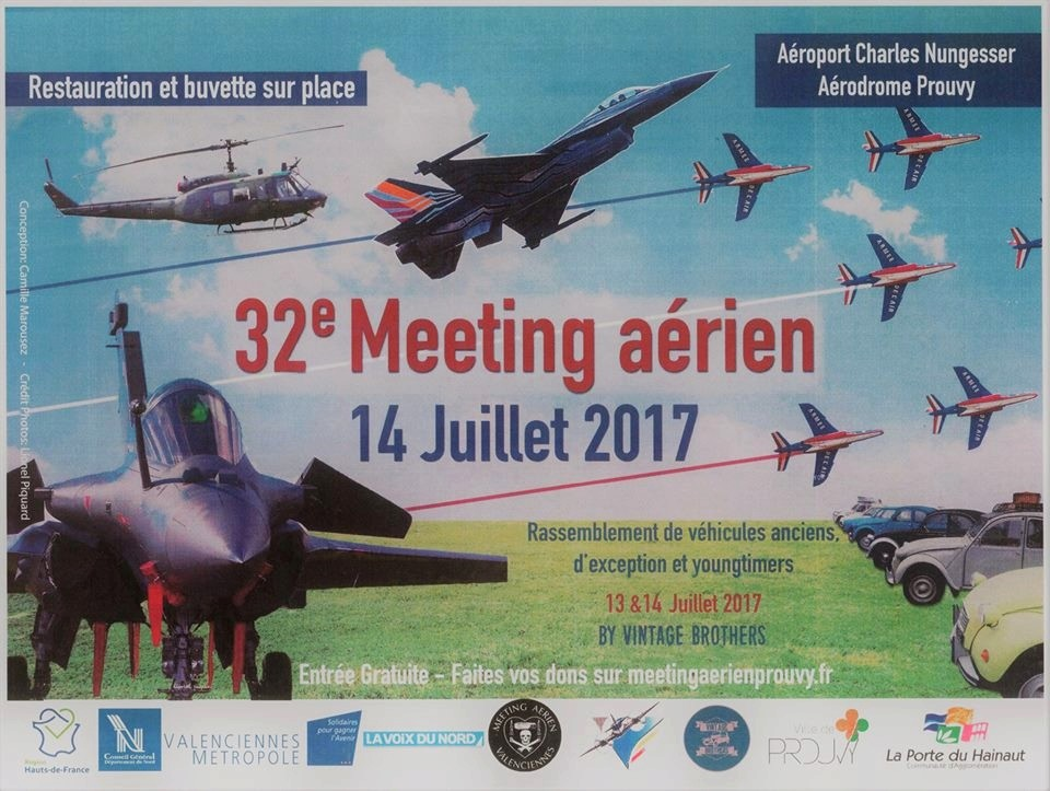 Meeting aerien Prouvy 2017 , Aérodrome Prouvy 2017 , Meeting Aerien 2017, French Airshow 2017
