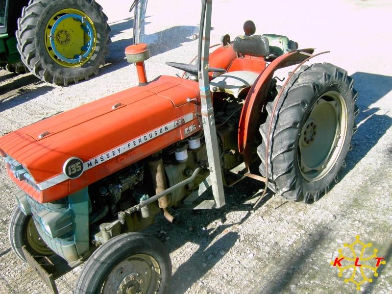 Tracteur massey ferguson 135 vigneron