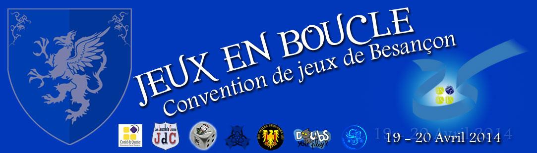 Jeux en boucle : Convention Besançon 2014