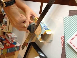 TUTO faire un présentoir pour ranger ses papiers étiquettes