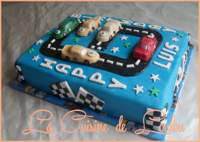 Hervorragend Decoration gateau circuit voiture – Home baking for you blog photo FP81