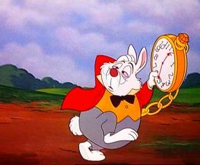 Le lapin blanc alice aux pays des merveilles - Lapin dans alice aux pays des merveilles ...