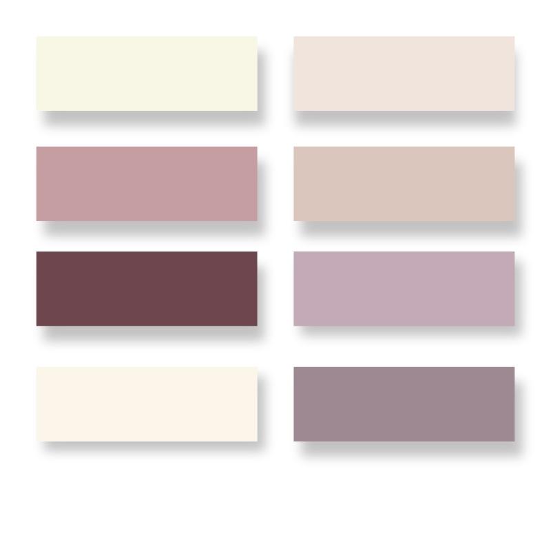 Lina nouveau d part for Mauve claire couleur