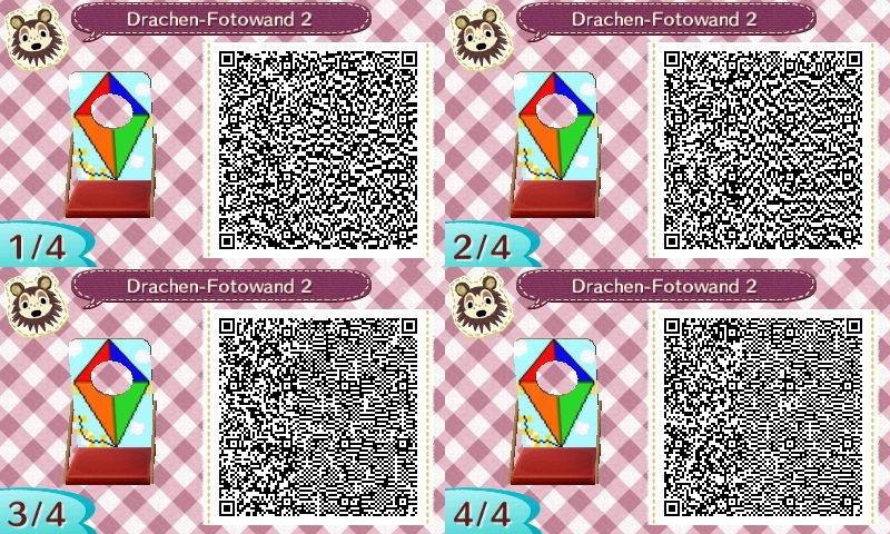Drachen basteln leicht gemacht Nintendo 3DS QRCodes