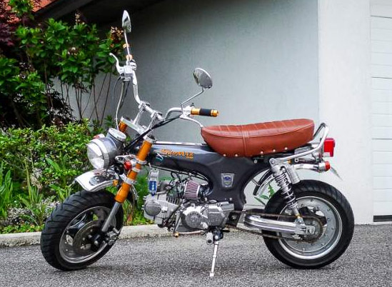 pin moto dax pro 125 skyteam 55l skymax version 2012 replicareplique on pinterest. Black Bedroom Furniture Sets. Home Design Ideas
