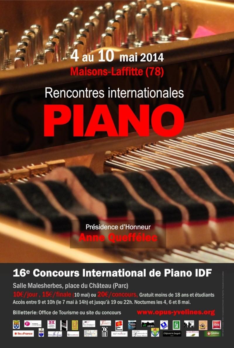 Concours Piano IDF 2014
