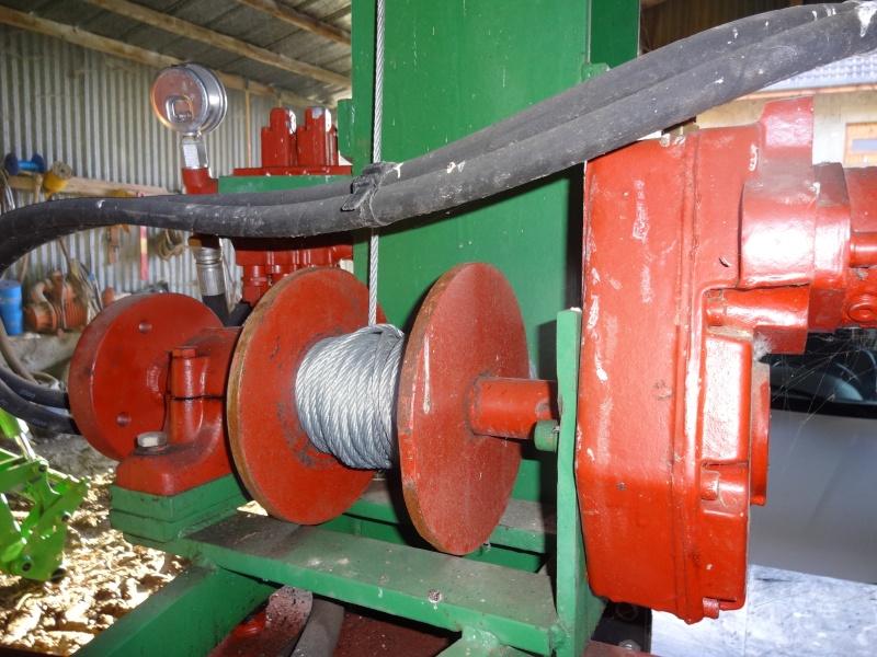 Fabrication treuil hydraulique pour fendeuse # Pince A Bois Pour Fendeuse