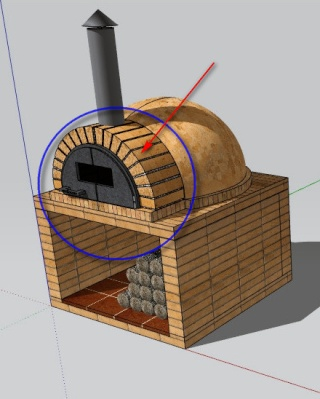Sketchando view topic componente horno para pizza - Precio de ladrillos huecos del 12 ...