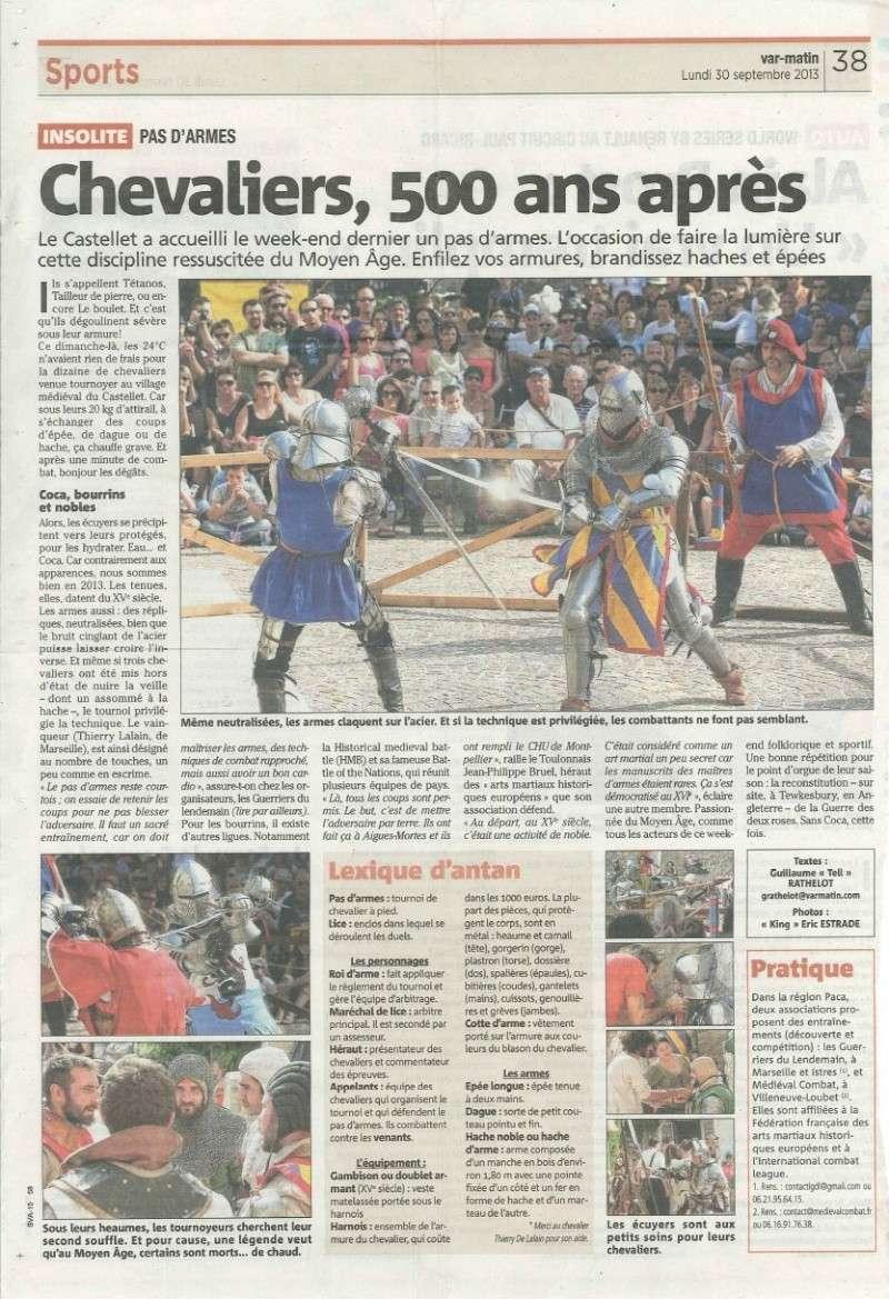 21 et 22 09 2013 tournoi en lice du castellet for Archerie montpellier
