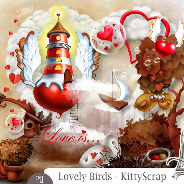 Lovely birds de Kittyscrap dans Février previe10