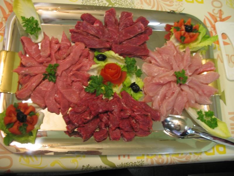 Souvent Plat de viande pour fondue chinoise PW61