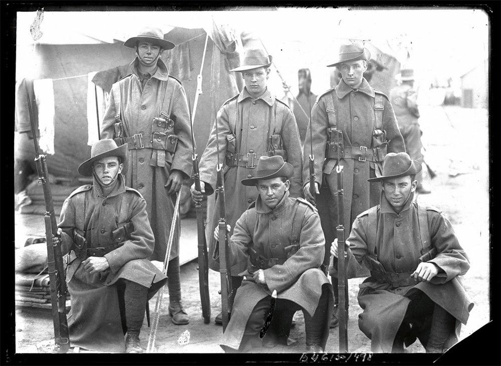 Australia first joined world war i