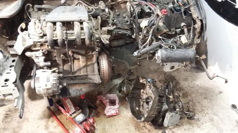 Conversion Boite Auto En Manuelle Et R Fection Moteur D7f