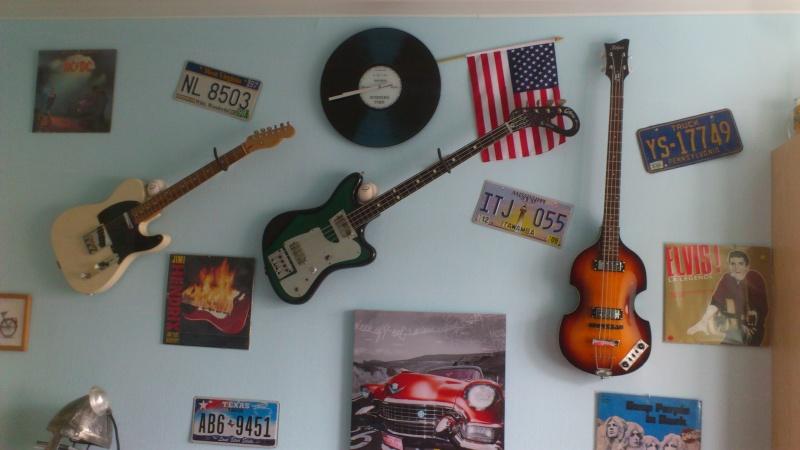 TUTO Support De Guitare Mural Slappyto - Porte guitare mural