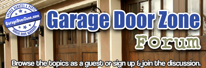 Free Forum Garage Door Zone