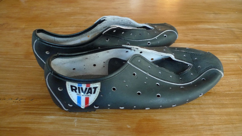 chaussures velo vintage