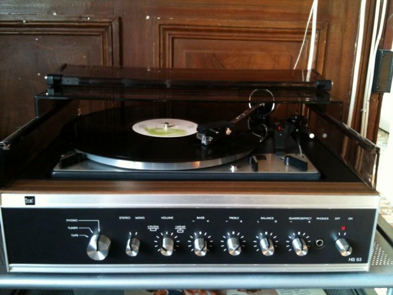 40 ans d j - Ancienne platine vinyle ...