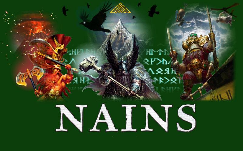 Forum Nains , Duardins , Fyreslayers et Kharadrons