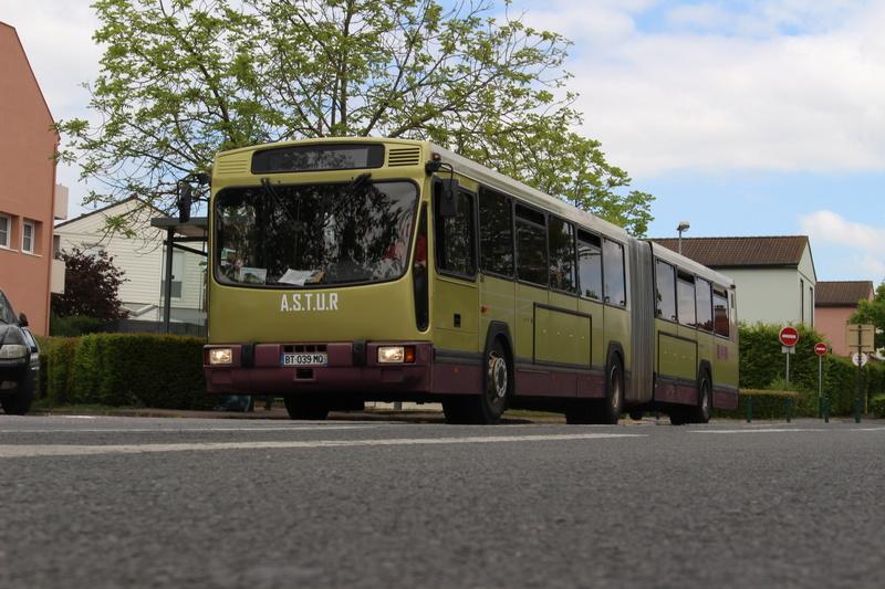 Le 731 à l'ancien terminus de la ligne I