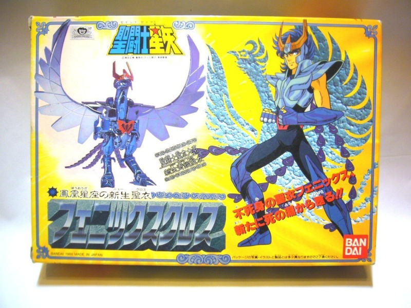 Saint Cloth Series Ikki di Phoenix V2