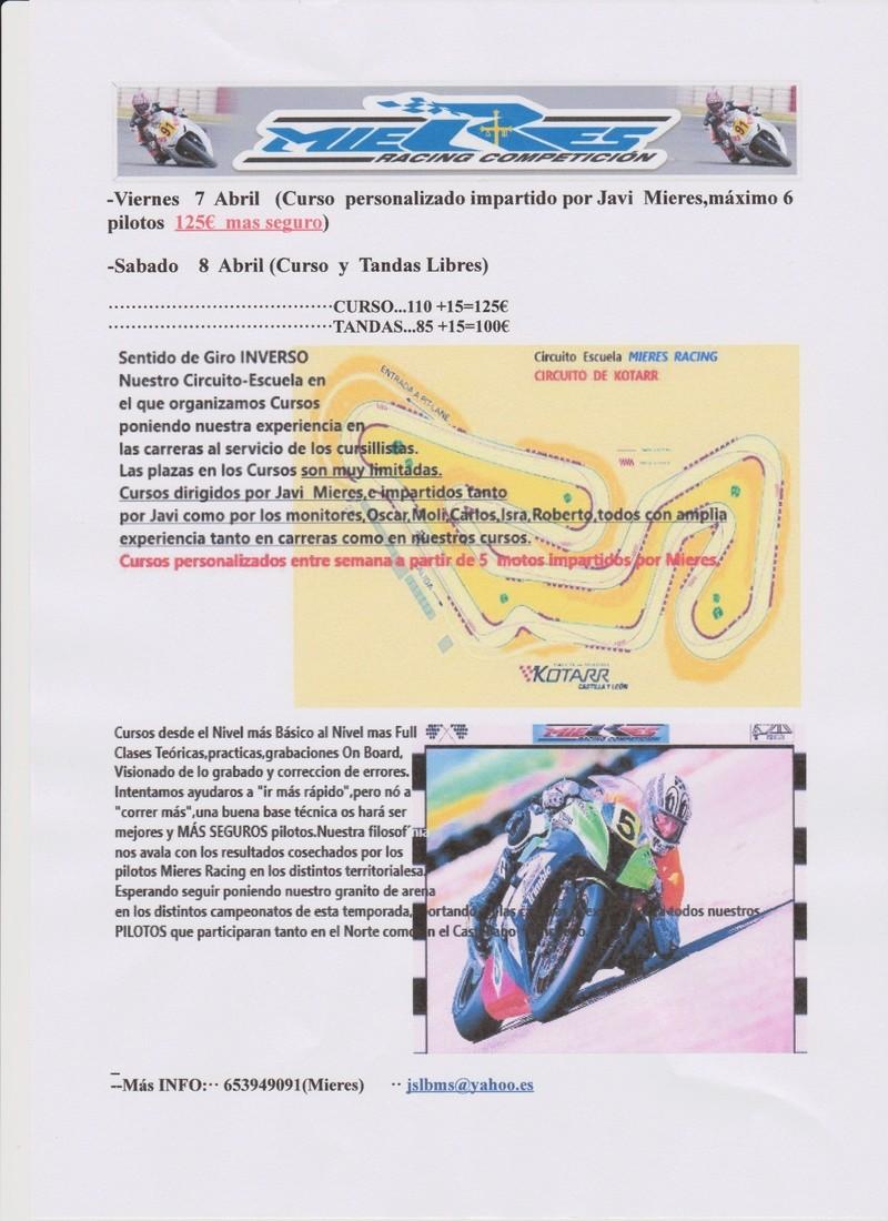 Circuito Kotarr : Kotarr abril curso y tandas mieres racing todocircuito