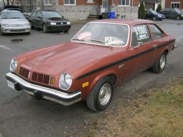 Plusieurs Photos Pontiac Astre 1970 1980