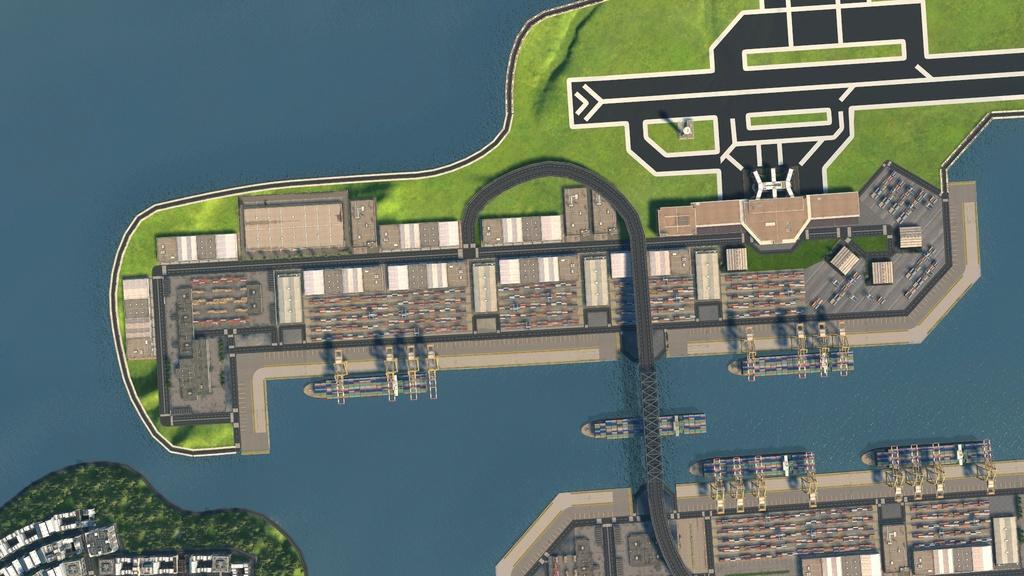 image Grand port industriel