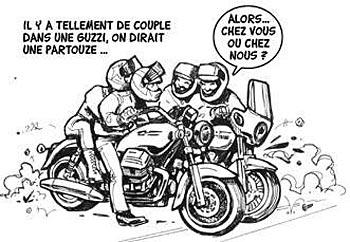 Ce que dit la loi sur les sorties en moto en groupe - Image drole de motard ...
