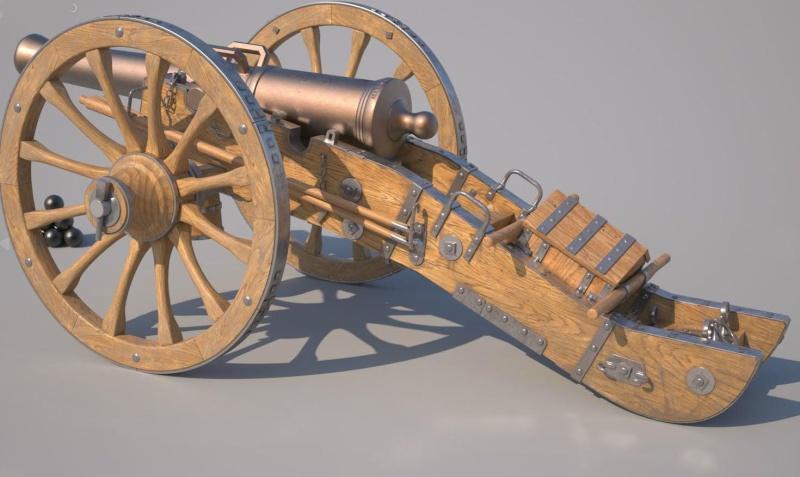 Макеты пушек времен войны 1812 года своими руками 64