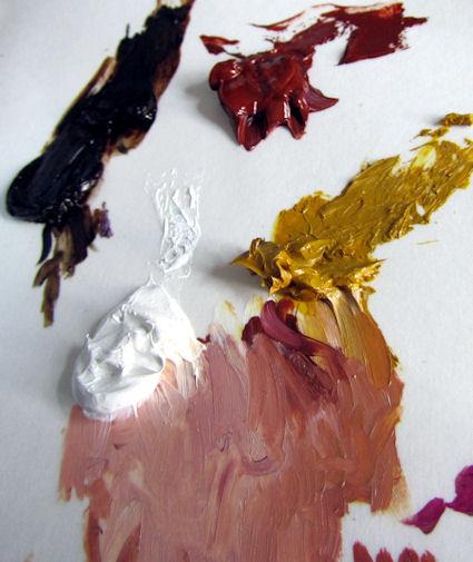 Peinture l 39 huile d 39 une t te for Comment passer une sous couche