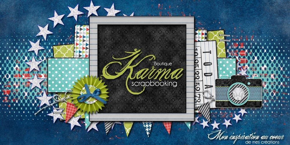 Karma Scrapbooking a maintenant son forum et sa boutique en ligne!