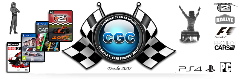 PC PS3 PS4 Online | CGC | F1 rFactor GT6 RBR Project Cars