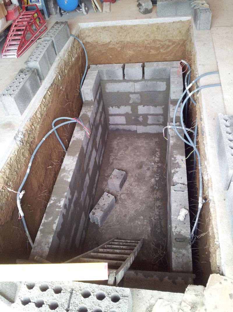 Confection d 39 une fosse m canique page 5 breizh gti 80 for Faire une fosse de garage