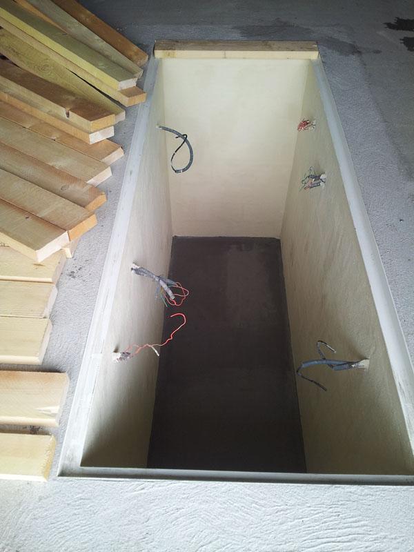 Confection d 39 une fosse m canique page 9 breizh gti 80 for Faire une fosse de garage
