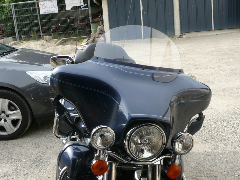 Pare Brise  Pouces Harley Davidson Electra
