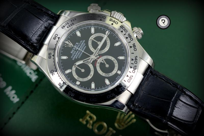 Rolex Daytona Cuir