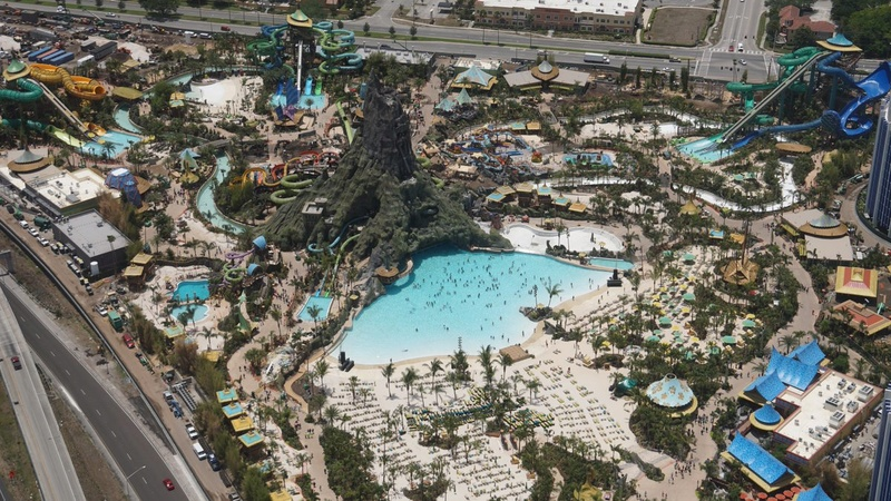 parc aquatique universal volcano