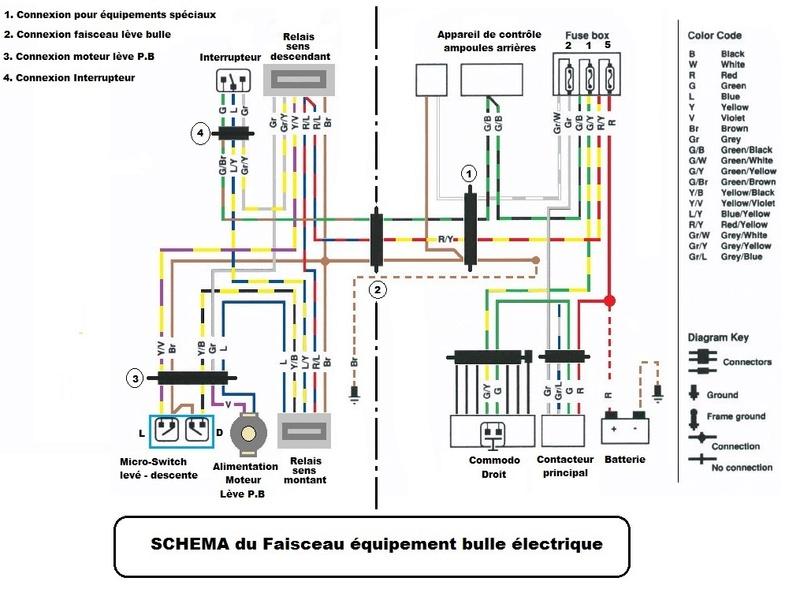 Schema Elettrico Bmw K75 : Schema electrique pour bulle k
