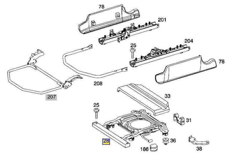 demontage siege passager sur viano fun long page 2. Black Bedroom Furniture Sets. Home Design Ideas