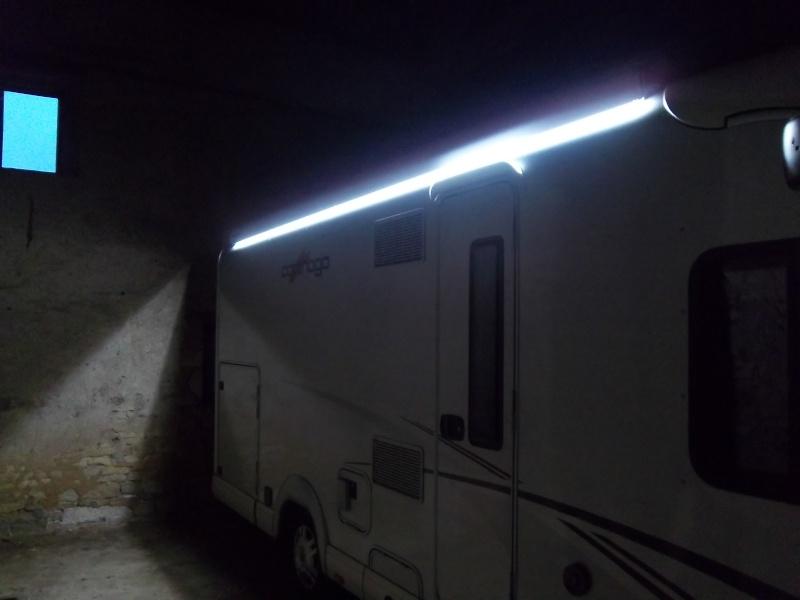 Montage Eclairage Exterieur Camping Car