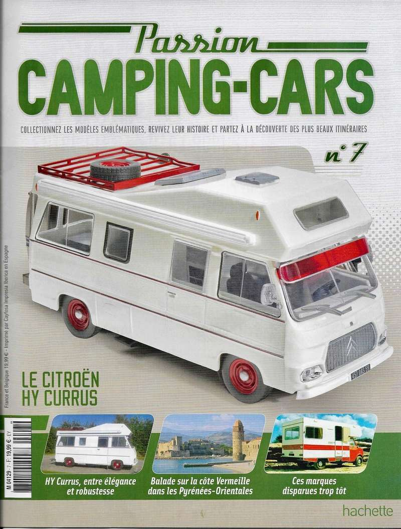 2017 hachette collections passion camping cars. Black Bedroom Furniture Sets. Home Design Ideas