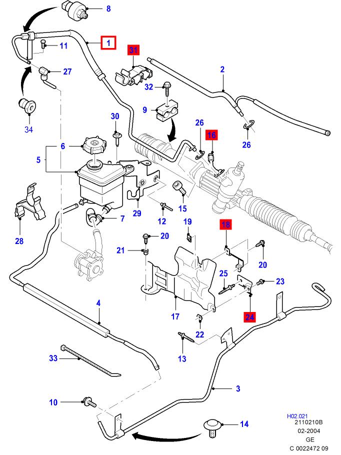 Schema Ford Mondeo