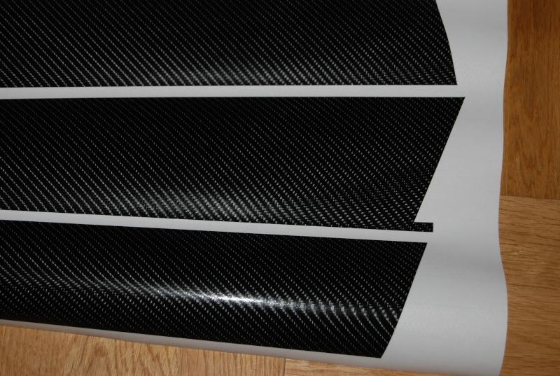 stickers montant de porti re carbone. Black Bedroom Furniture Sets. Home Design Ideas