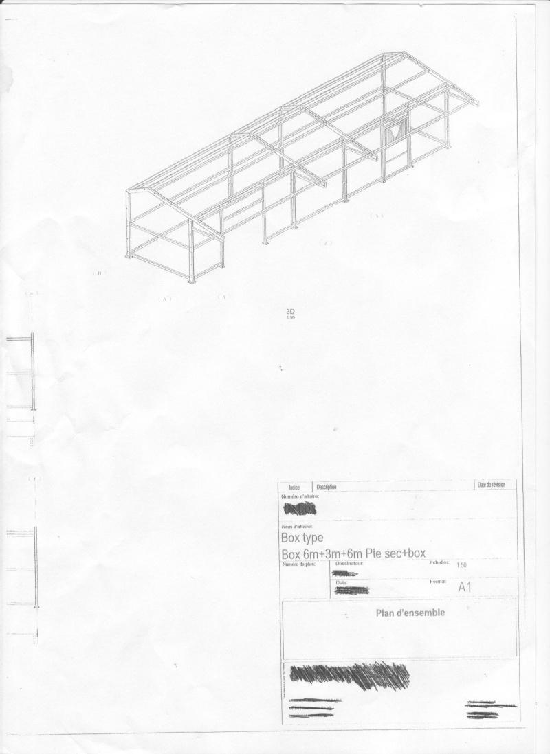 Super plan pour abri (hangar) pour mettre bois et materiel a l'abri PT77